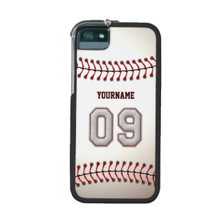 Cool Stitched Baseball Number 9 iPhone 5 Cases