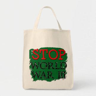 Cool Stop War Bag! Tote Bag