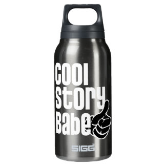 Cool Story Babe Insulated Water Bottle