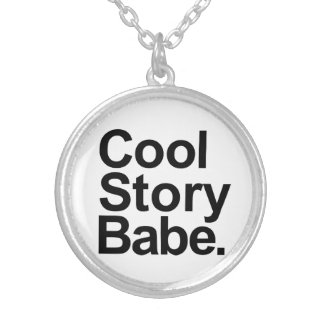 Cool story babe necklaces