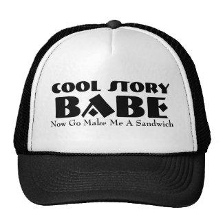 make me a sandwich hats and make me a sandwich trucker hat