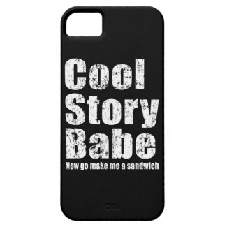 Cool Story Babe Now Go Make Me A Sandwich iPhone 5 iPhone 5 Cases