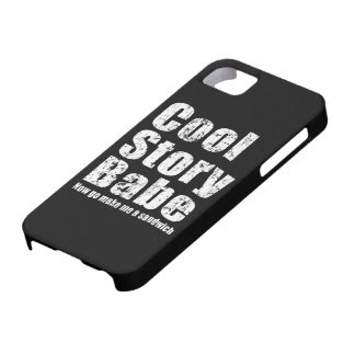 Cool Story Babe Now Go Make Me A Sandwich iPhone 5 iPhone SE/5/5s Case