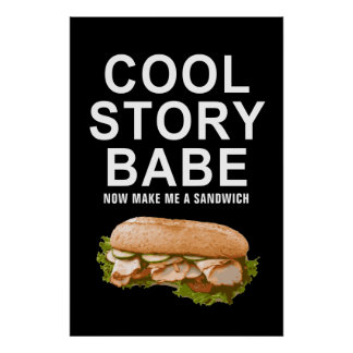 cool story babe poster