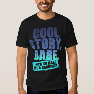COOL STORY BABE T SHIRT
