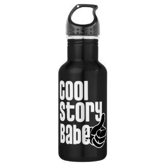 Cool Story Babe Water Bottle