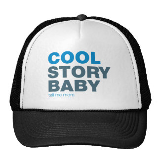 cool story baby trucker hat