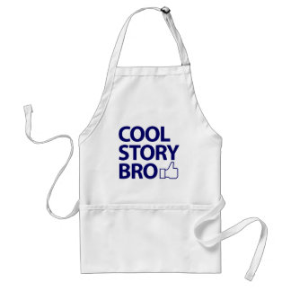 Cool Story Bro Adult Apron