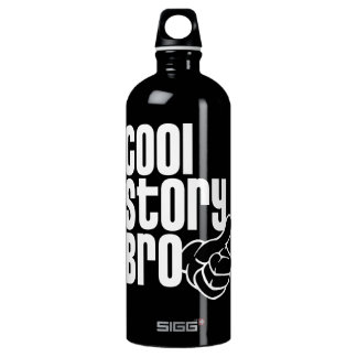 Cool Story Bro Aluminum Water Bottle