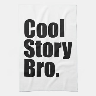 Cool Story Bro. American MoJo Kitchen Towe Towels