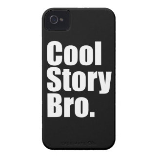 Cool Story Bro. Barely There™ iPhone 4 Cas Case-Mate iPhone 4 Case