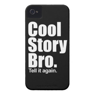Cool Story Bro. Barely There™ iPhone 4 Cas Case-Mate iPhone 4 Cases