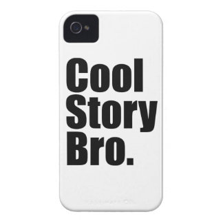 Cool Story Bro. Barely There™ iPhone 4 Cas iPhone 4 Case-Mate Case