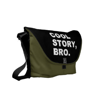 Cool Story Bro Courier Bag
