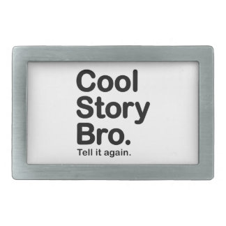 Cool Story Bro. Customizable Background Buckle Belt Buckles