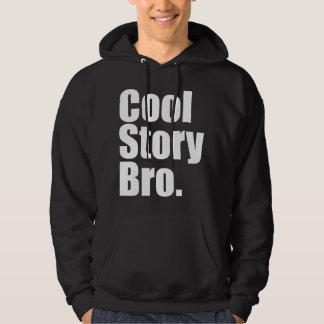 Cool Story Bro. Dark Hooded Sweatshirt