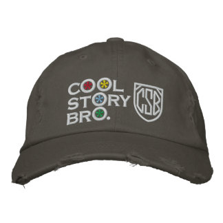 Cool Story Bro Embroidered Baseball Hat