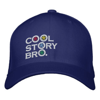 Cool Story Bro Embroidered Hat