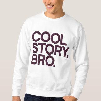 Cool Story Bro Embroidered Sweatshirt