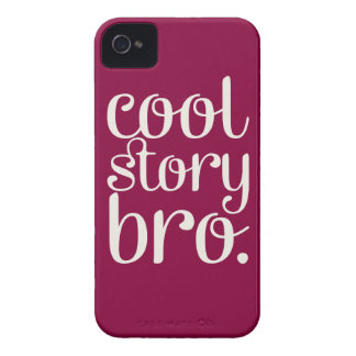 Cool Story Bro Maroon iPhone 4 Cover