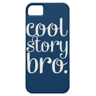 Cool Story Bro Navy iPhone SE/5/5s Case