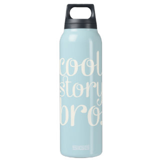 Cool Story Bro Navy Thermos Bottle