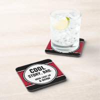 Cool Story Bro. Now Shut Up & DRINK Drink Coasters