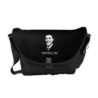 COOL STORY BRO OBAMA png Courier Bag