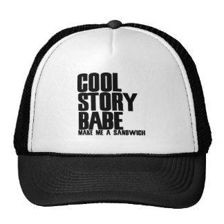Cool Story Bro Parody Mesh Hats