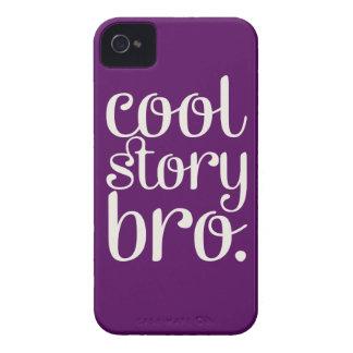 Cool Story Bro Purple iPhone 4 Case