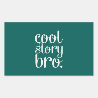 Cool Story Bro Rectangular Stickers
