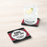 Cool Story Bro Shut up and Drink Drink Coaster
