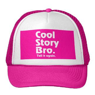 Cool Story Bro. Tell it again.3 Mesh Hats