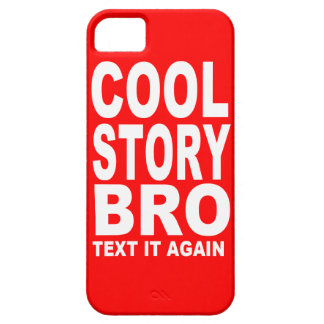 Cool Story Bro, Text It Again iPhone SE/5/5s Case