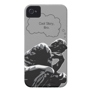 Cool Story, Bro Thinker iPhone 4 Case-Mate Cases