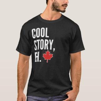 Cool Story Canadian Bro Shirt Dark