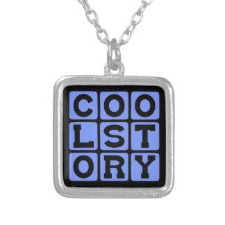 Cool Story, Internet Meme Custom Necklace