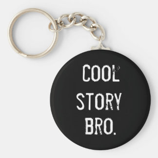 Cool Story Keychain