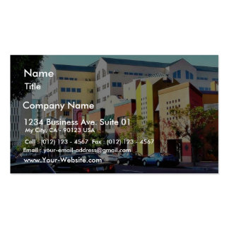 Cool Street In Hillcrest Business Card Template