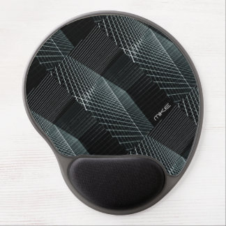 Cool Structure 3D Penetrating Light Background Hip Gel Mouse Pad