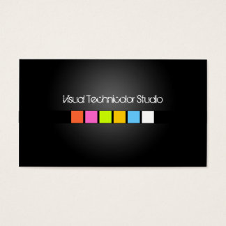 Cool / Stylish fluorescent squares Business Card