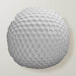 Cool Stylish Golf Sport Ball Texture Pattern Round Pillow