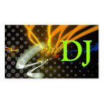 Cool / Stylish neon lights/fluorescent colors Business Cards