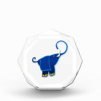 Cool Stylized Blue Elephant Awards
