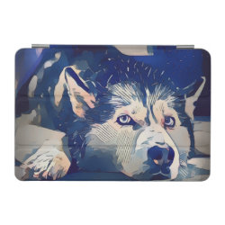 iPad mini Cover with Siberian Husky Phone Cases design