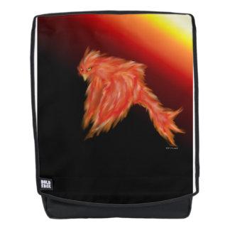 Cool Stylized Phoenix Firebird Boldface Backpack