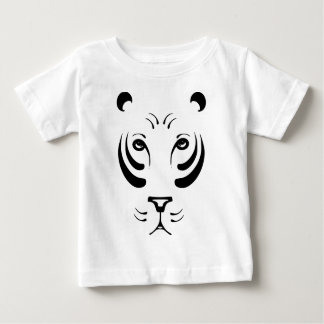 Cool Stylized Tiger Face Baby T-Shirt