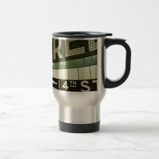 Cool Subway 15 Oz Stainless Steel Travel Mug