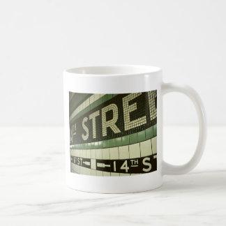 Cool Subway Classic White Coffee Mug