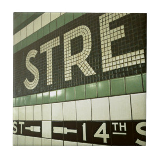 Cool Subway Small Square Tile